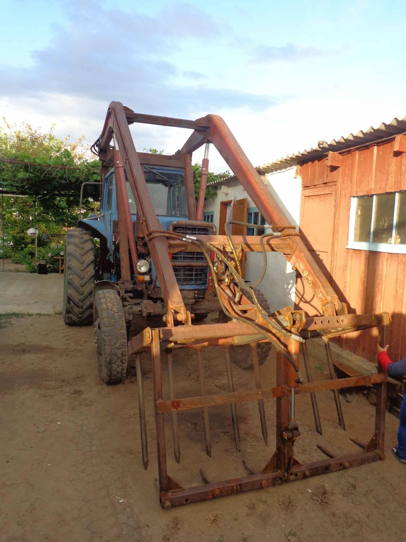 Скачать Мод FS17 Трактор МТЗ-1221 Стогомет v 1.0 для.
